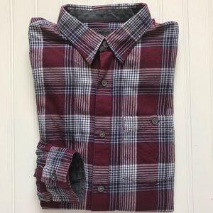 A/X ARMANI EXCHANGE Light Flannel Shirt!  M  SLIM